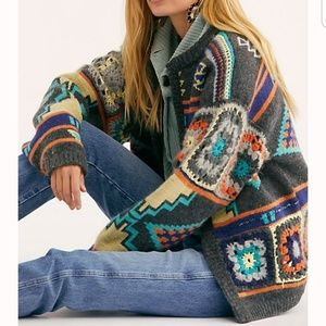 Free People Sweaters - NWT Free People Santa Rosa Cardi, XS/S